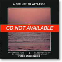A prelude to applause
